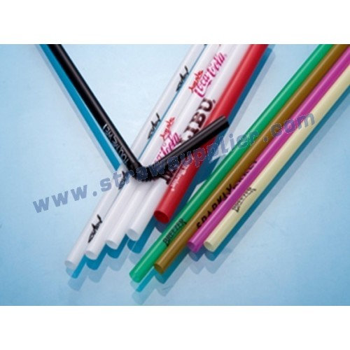 Printed Straw-LOGO Straw