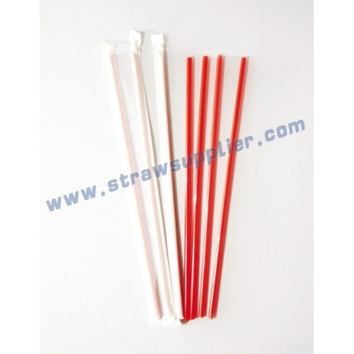 individul paper wrapped coffee stirrers