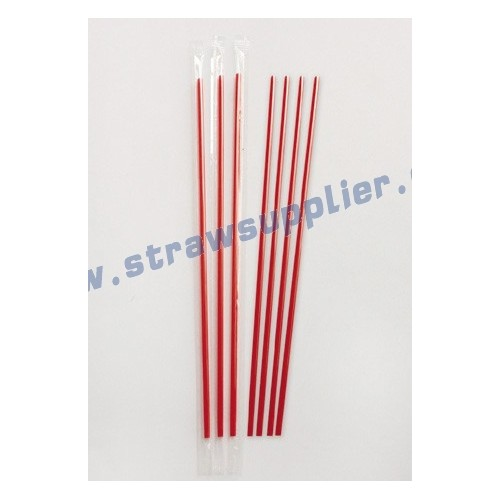 individul film wrapped coffee stirrers