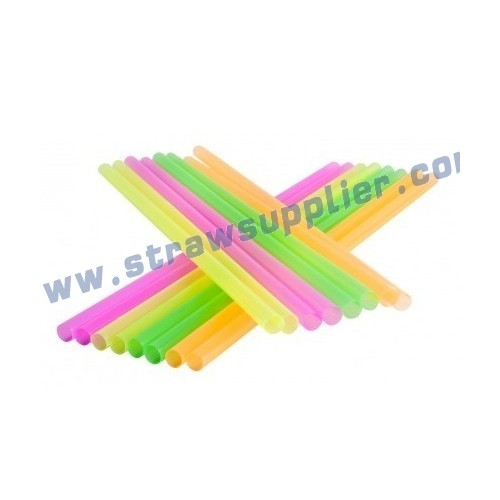 fluorescent straight straw