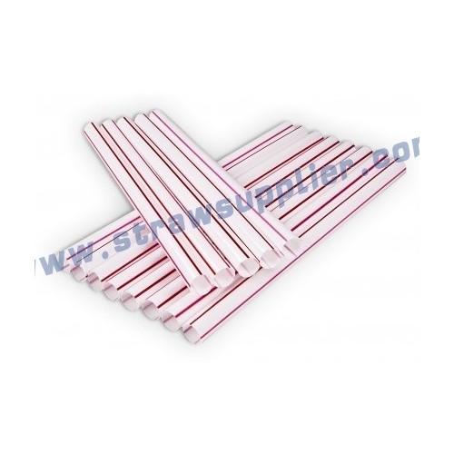 stripe straight straw