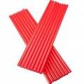 red straight straw