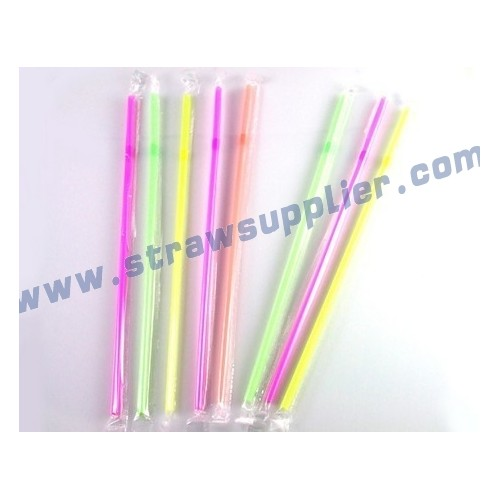Individul Film Wrapped Bendy Straws