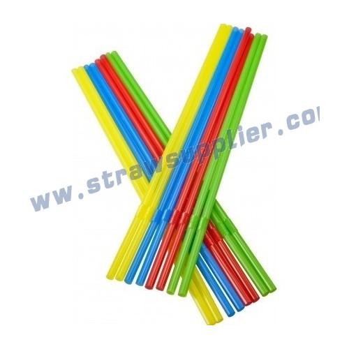 solid flexible straw