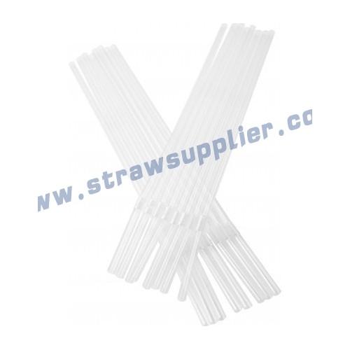 clear flexible straw