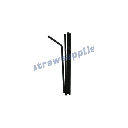 Bendy Straws Black