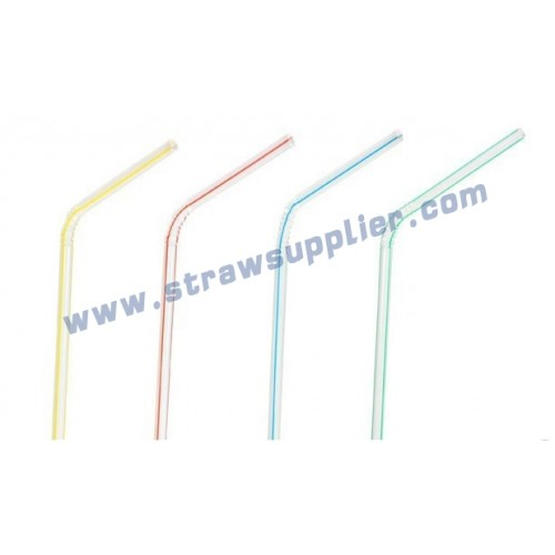 striped bendy straws
