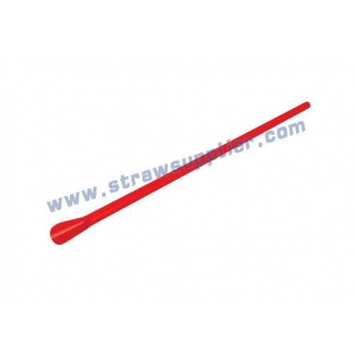 spoon straw red