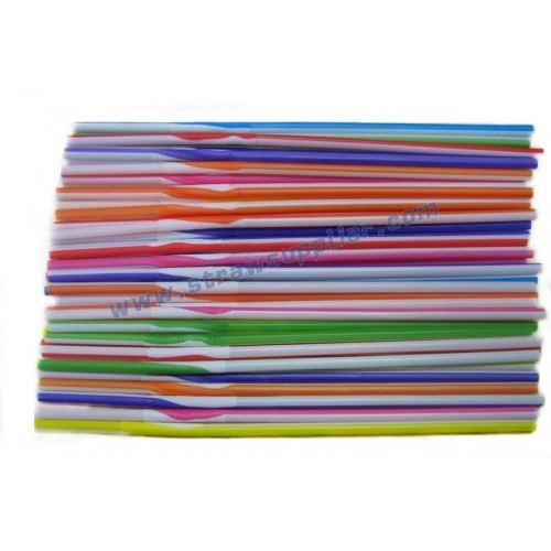 Twisted Stripes Artistic Straws