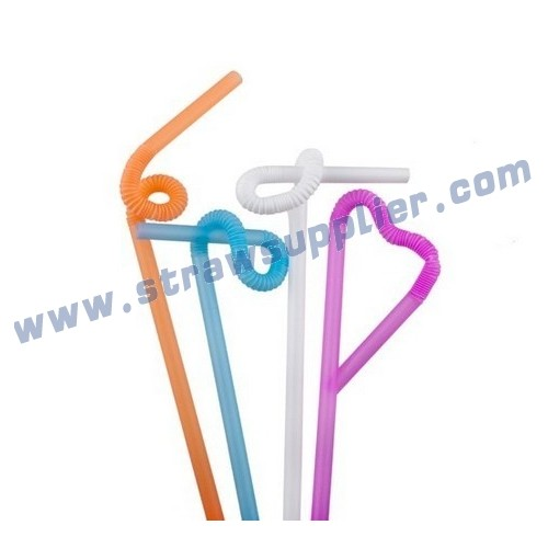 Artistic Flexible straw