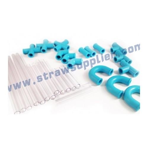 DIY Different Combination Plastic Drinking Straws
