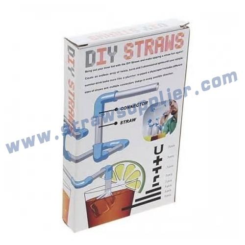 30pieces DIY Straws