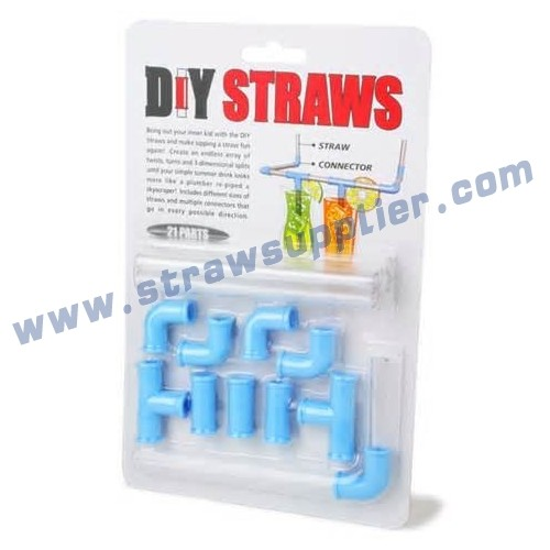 21pieces DIY Straws