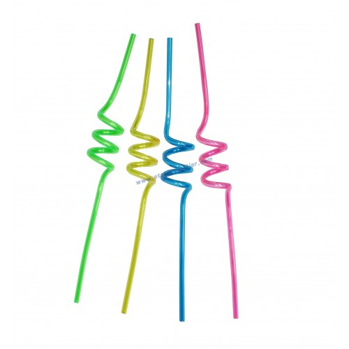 Spiral Squiggle Straws
