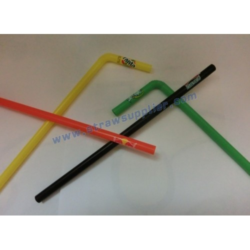 Full Color Printed Straw With Logo 19x23mm