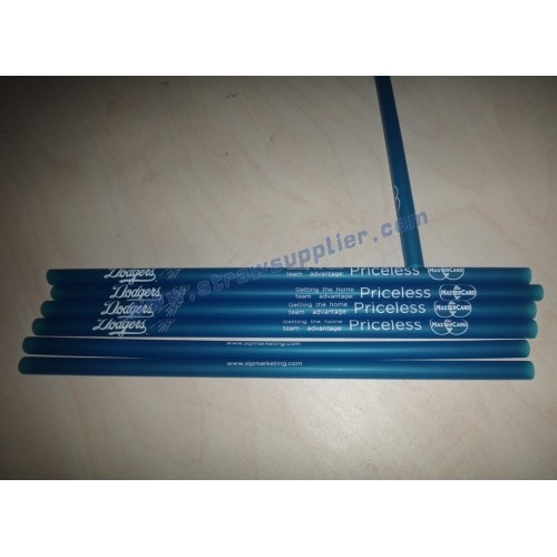 Custom Imprinted Straws-Dodgers&MasterCard